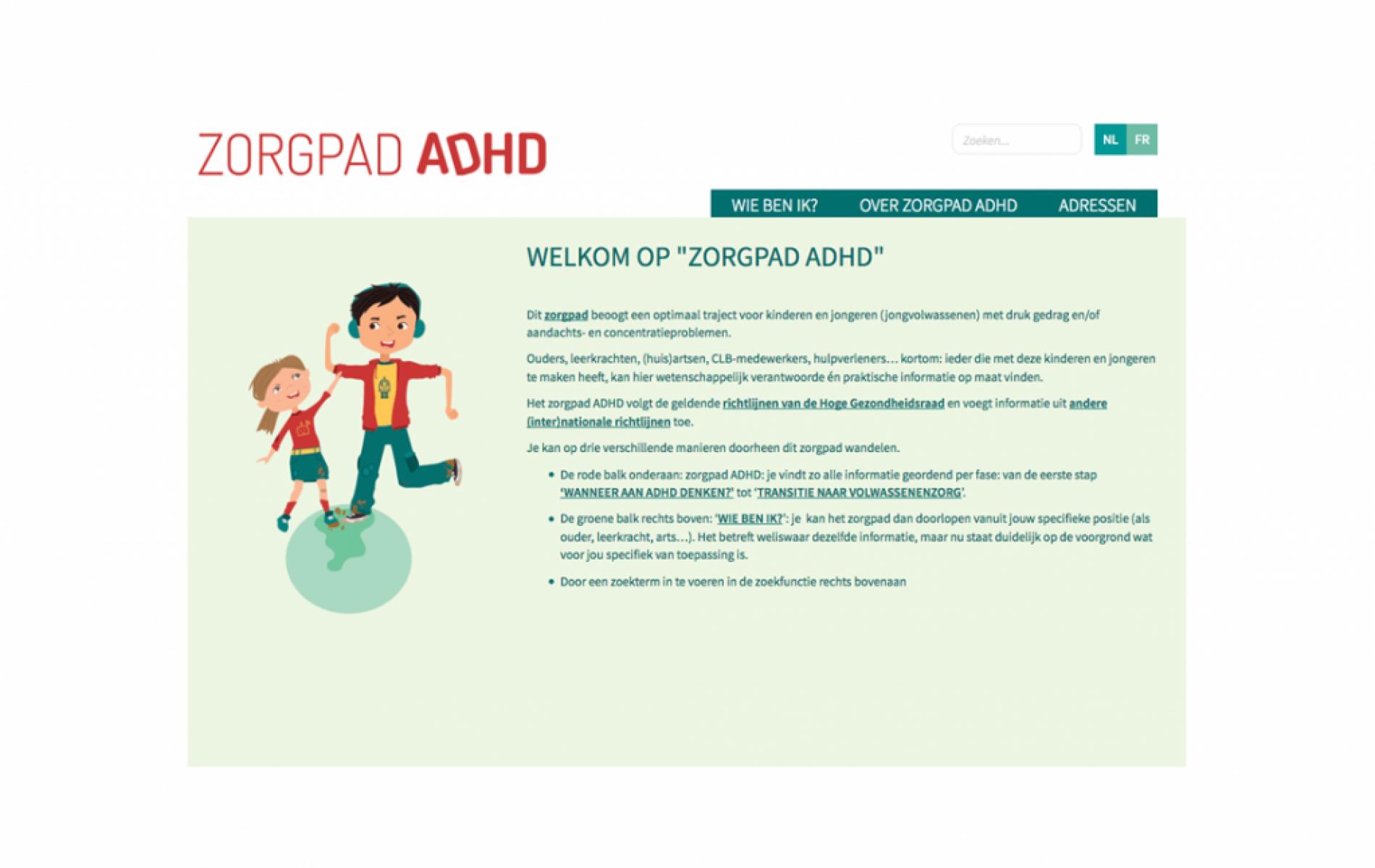 ADHD-informatie voor diverse doelgroepen