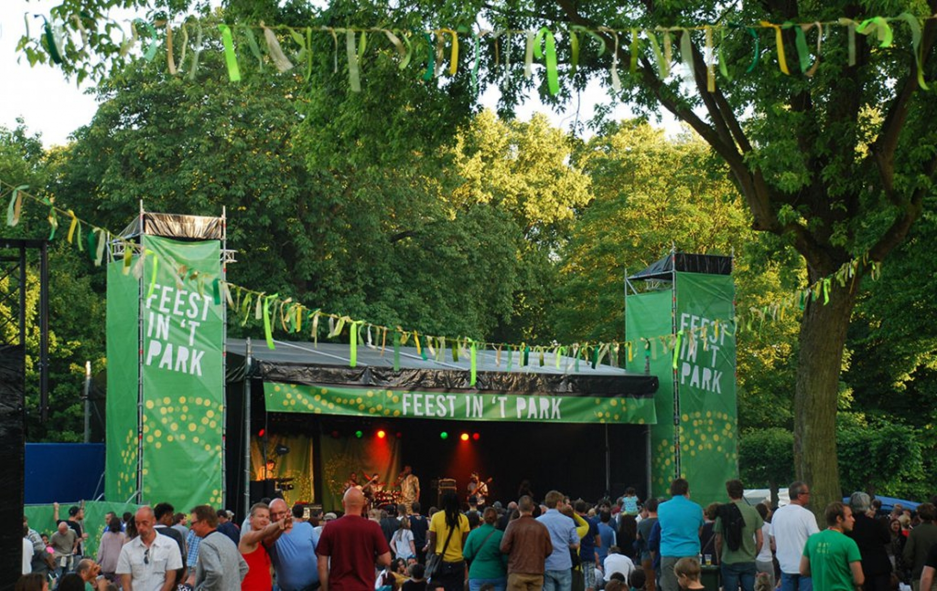 Feest in 't Park